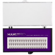 Ресницы пучковые Manly Pro шелк 10 мм РП04: фото