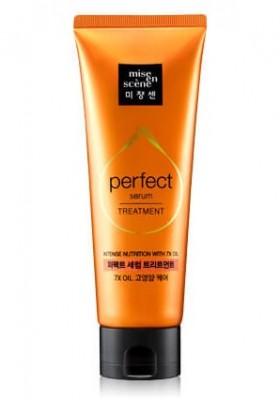 Питательная маска с маслами для поврежденных волос MISE EN SCENE Perfect Serum Treatment Pack: фото