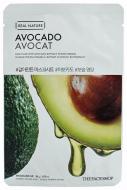 Отзывы Маска с экстрактом авокадо THE FACE SHOP Real nature mask sheet avocado 20мл