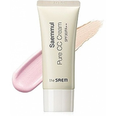 Крем СС чистый THE SAEM Saemmul Pure CC Cream SPF30 PA++ 40мл: фото