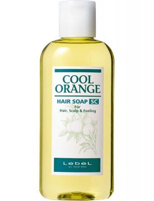 Шампунь против выпадения волос Lebel Cool Orange HAIR SOAP SUPER COOL 200мл: фото
