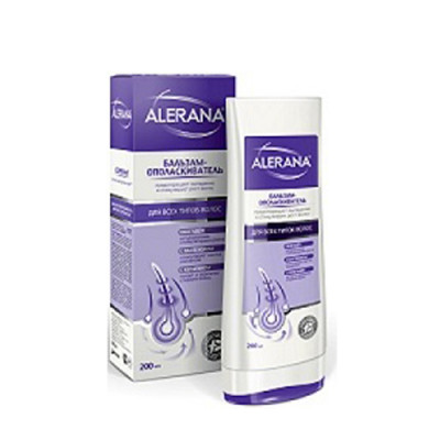 Бальзам-ополаскиватель для всех типов волос Alerana 200мл: фото