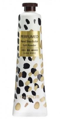 Крем-масло для рук THE SAEM Perfumed Hand Shea Butter Soft Powder 30мл: фото