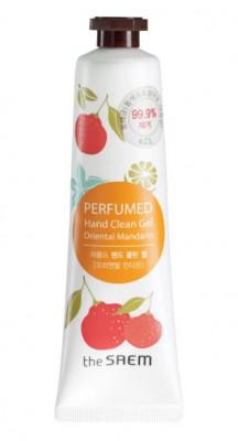 Крем-гель для рук парфюмированый THE SAEM Perfumed Hand Clean Gel Oriental Mandarin 30мл: фото
