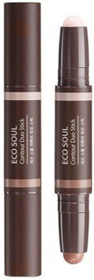 Стик для контурного макияжа THE SAEM Eco Soul Contour Duo Stick 1,9г*2: фото