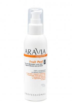 Гель-эксфолиант для тела с фруктовыми кислотами ARAVIA Organic Fruit Peel 150 мл: фото