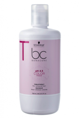 Маска для окрашенных волос Schwarzkopf Professional BC pH 4.5 Color Freeze 750 мл: фото