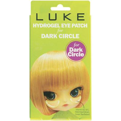 Гидрогелевые патчи для кожи вокруг глаз 4Skin LUKE против темных кругов, с экстрактом зелёного чая. 5 пар: фото