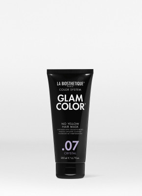 Тонирующая маска для волос La Biosthetique Glam Color No Yellow Hair Mask, 07 Crystal 200 мл: фото