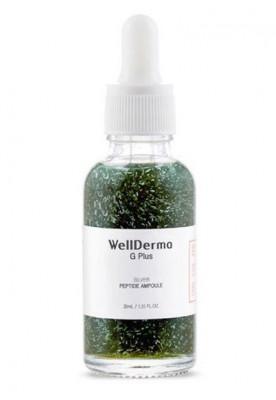 Пептидная сыворотка с ионами серебра WELLDERMA G Plus Silver Peptide Ampoule 30 мл: фото
