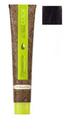 Краска для волос Macadamia Oil Cream Color VB РАДУЖНЫЙ ЧЕРНЫЙ 100мл: фото