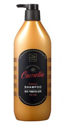 Шампунь для волос с камелией MISE EN SCENE JEJU CAMELLIA VOLUME SHAMPOO 780мл: фото